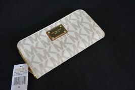 NWT! Michael Kors Signature Specchio Zip Around Continental Wallet in Va... - £118.61 GBP