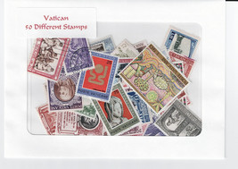 Vatican City 50 Different Stamps