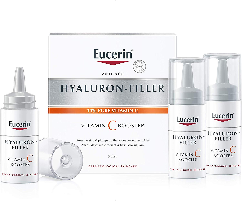 Eucerin Anti-Age Hyaluron- Filler 10% Pure Vit C 3 vials [BB 07/21] [New&Sealed] - $15.99