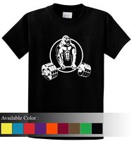 Hypertrophic Gorilla Workout Funny Men's T-Shirt Size S-3xl - $19.00