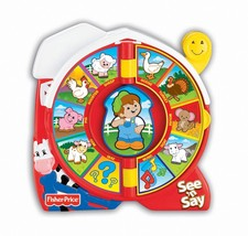 Lovely Kids Fisher-Price See 'N Say Farmer Says - $14.80