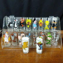 1973 Pepsi Collector Looney Tunes Cartoon Character Glasses tumbler Warner Bros - $17.50