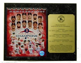 GFSF Boston Red Sox 2018 World Series Champions Team 8x10 Photo Plaque with Larg - $29.39