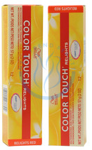 Wella Color Touch Relights /47 Red brown 2oz - $10.48