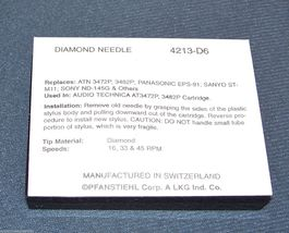 TURNTABLE NEEDLE STYLUS for ATN 3472 3482P AT-92 AT92E AT92 AT93 4213-D6 213 image 3