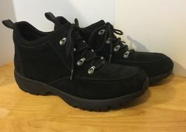 Lands End Black Suede Boots Women's 9B - $28.04