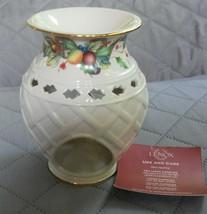 Lenox Wax Fragrance Warmer Holiday Tartan - $9.79