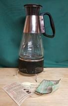 Vintage Pyrex Nescafe Coffee Maker with Coffee Warmer 1955 - $65.33
