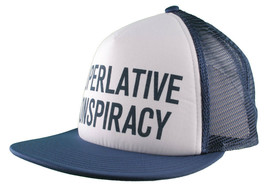 WeSC Superlative Conspiracy Trucker Cap Baseball Hat image 2