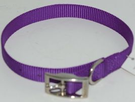 Valhoma 730 16 PR Dog Collar Purple Single Layer Nylon 16 inches Package 1 image 4