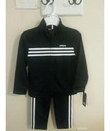 Adidas Boys 2 Piece Tracksuit (Jacket, Pants) Size 6 MSRP $54 - $29.70