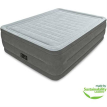 Queen 22 Inch Dura Beam High Rise Airbed Mattress Built In Electric Pump... - $74.24