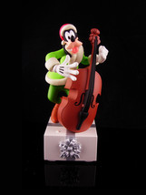 Animated Goofy - Vintage musical bass player band  - Hallmark figurine - Oh Chri - $85.00