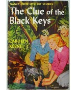 Nancy Drew #28 THE CLUE OF THE BLACK KEYS hcdj TRUE FIRST PRINT Farah Va... - $100.00