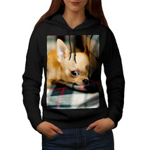 Chihuahua Dog Cute Animal Sweatshirt Hoody Resting Dog Women Hoodie - $21.99+