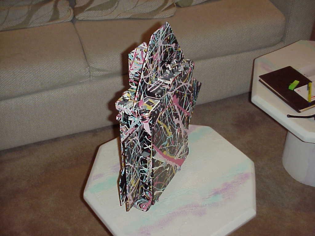 Fantasy Clock by Richard Birkett Modern Vibrant