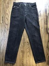 Vtg Guess Jeans Mens Classic Straight Leg Denim Jeans Size 36 x 32 - $28.93