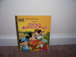 Disney MICKEY'S CHRISTMAS CAROL LITTLE GOLDEN BOOK 1997 - $4.96