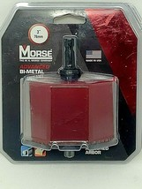 """MORSE 3"""" ,76 MM Hole Saw  Made In USA - $14.59"""