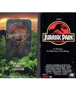 Jurassic Park & The Lost World Jurassic Park (2 VHS Tapes) - $6.95