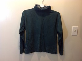 Forenza Forest Green Long Sleeve Turtleneck Shirt Sz S