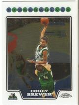 Corey Brewer Topps Chrome 08-09 #129 Minnesota Timberwolves Dallas Mavs Denver - $0.20