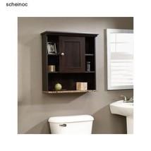 Over Toilet Storage Bathroom Espresso Wall Mount Medicine Cabinet Shelf ... - $76.99