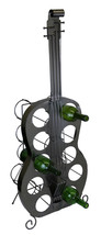 "Guitar Wine Bottle Holder 39"" Holds 10 Bottles For Kitchen Or Restaurant... - $130.68"