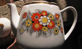 Porcelain gold Teapots  RPR 3  Riga Porcelain Factory soviet USSR  8@20P60K - $23.03