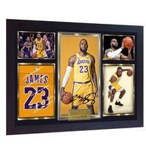 LeBron James Los Angeles Lakers signed autograph LEBRON photo print NBA ... - $20.81