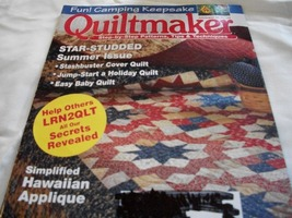 Quiltmaker Magazine July/August 2008 - $5.00