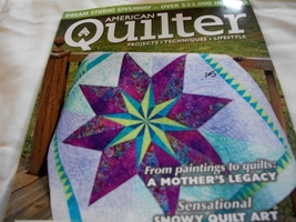 American Quilter Magazine March 2013 - $5.00