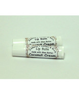 Coconut Cream Lip Balm with Shea Butter (2 Tubes) - $6.00