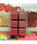 Strawberry Jam Breakaway Clamshell Soy Wax Tart Melts - $4.00