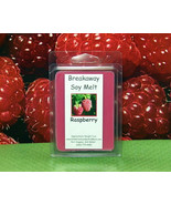 Raspberry Breakaway Clamshell PURE SOY Wax Tart Melts - $3.50