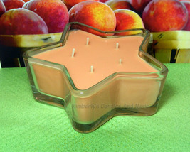 Georgia Peach PURE SOY Star Container Candle 11 oz. - $10.00