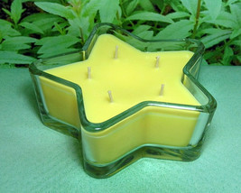 Lemon Verbena PURE SOY Star Container Candle 11 oz. - $10.00