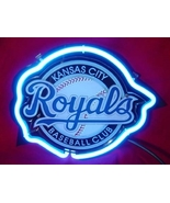 "MLB Kansas City Royals Baseball 3D Beer Bar Neon Light Sign 10"" x 9"" - $71.10"