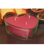 Cinnamon Stick PURE SOY Heart Container Candle (1 pound of wax) - $12.00