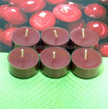 Cranberry PURE SOY Tea Lights (Set of 6) - $5.00