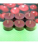 Cranberry PURE SOY Tea Lights (Set of 6) - $5.00