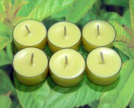 Lemon Verbena PURE SOY Tea Lights (Set of 6) - $5.00