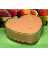 Georgia Peach PURE SOY Heart  Container Candle 16 oz. - $12.00