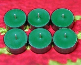 Home for the Holidays PURE SOY Tea Lights (Set of 6) - $5.00