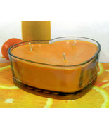 Fresh Squeezed Oranges PURE SOY Heart Container Candle 16 oz. - $12.00