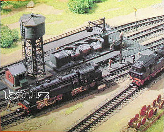 ARNOLD N 6305 - Steam Locomotive Service Facility