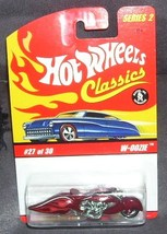 Hot Wheels Classics W-Oozie #27 of 30 RED Diecast NEW! Series 2 - $8.96