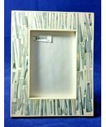 "Pomeroy 5"" x 7"" Rialto Gray and White Resin Photo Frame - $74.99"