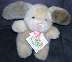 "Dakin HAPPY HEART BUNNY Plush 8"" From 1989 w/TAG - $10.96"