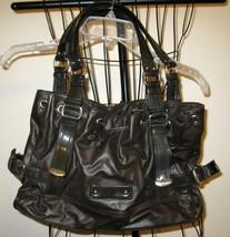 Beautiful Black Hobo Purse Handbag by Nine West Nice! #T901 - $13.99